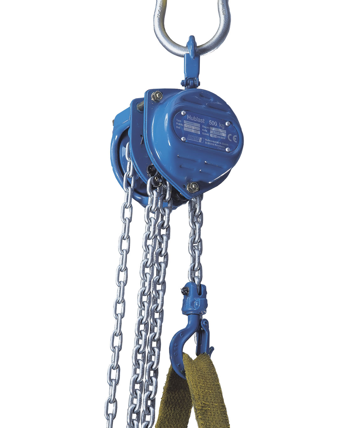 1000Kg Chain Hoist-15M Lift