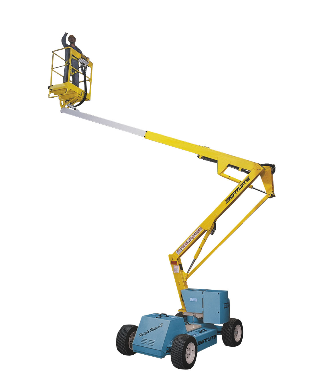 12m Self Propelled Bi-Energy Boom Lift