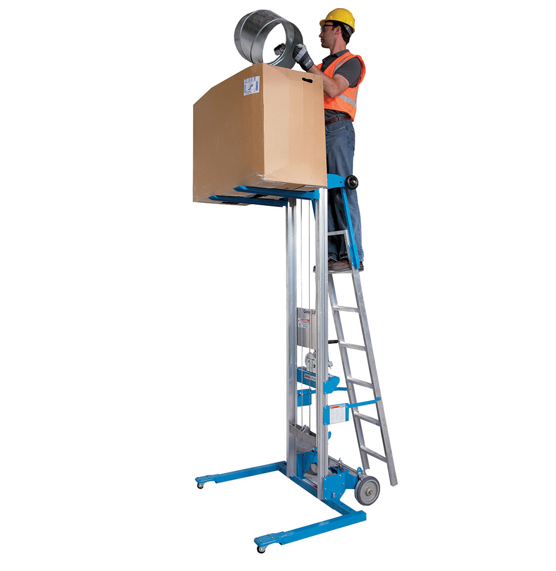 159Kg Lift Stacker and Ladder (Gl12)