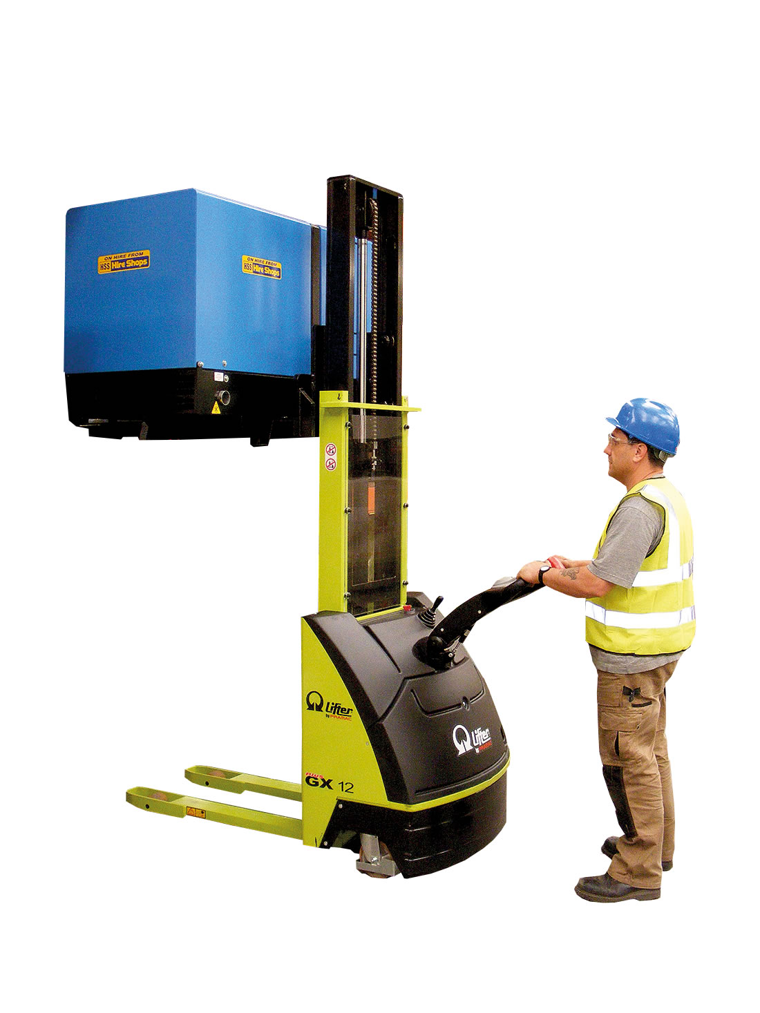 Gx12 Fully Powered Stacker
