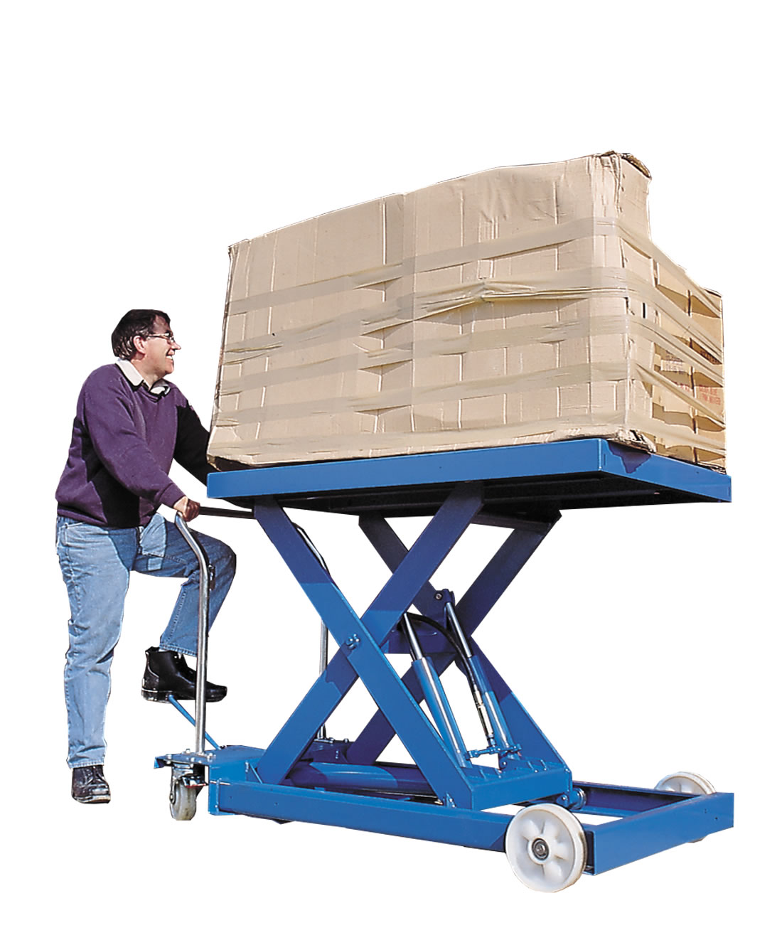 450Kg Scissor Lifting Table 1.8M