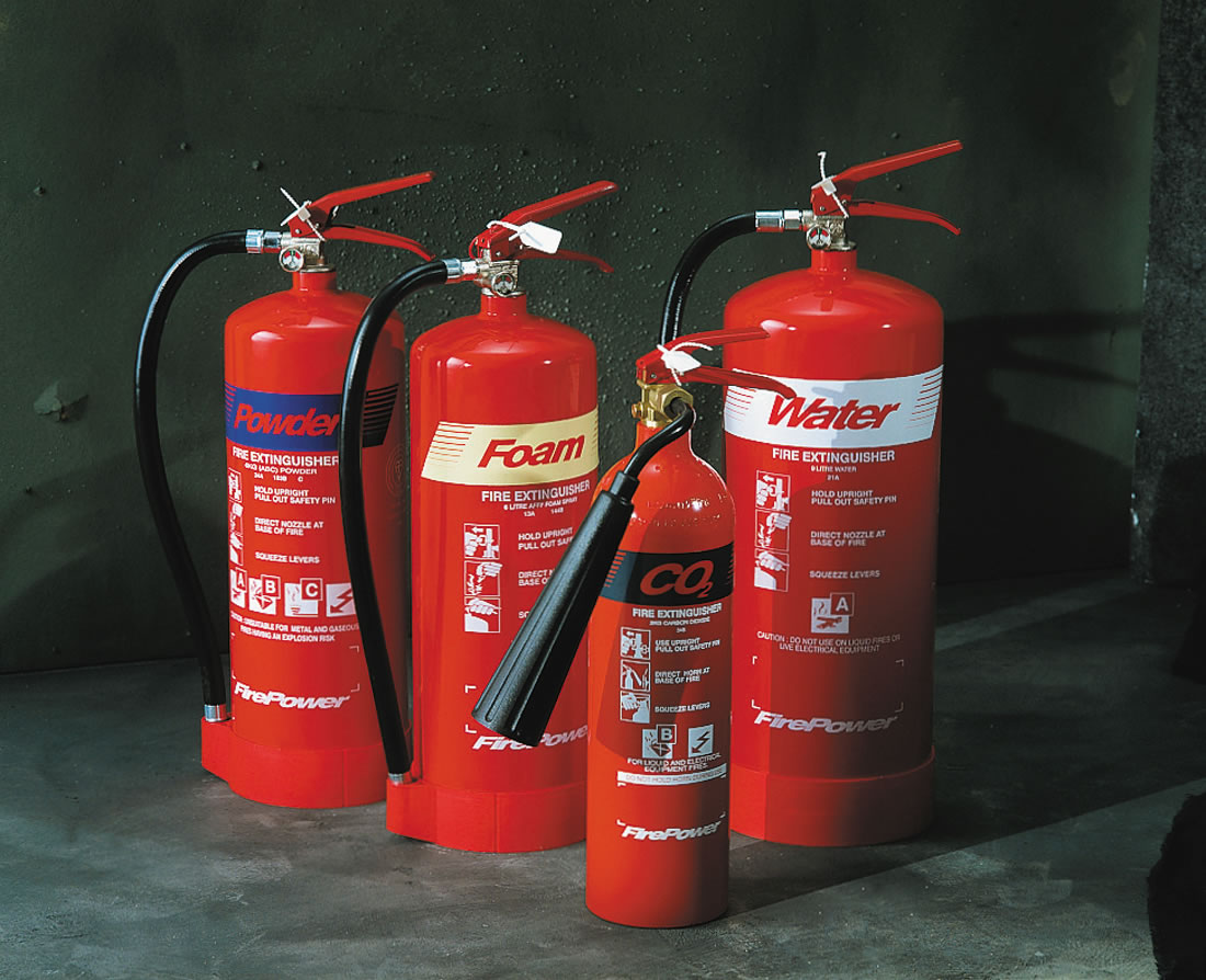 9 L. Water Fire Extinguisher