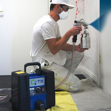 Portable Turbine Spray
