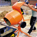 Concrete Mixer Tip-Up Electric - 240v