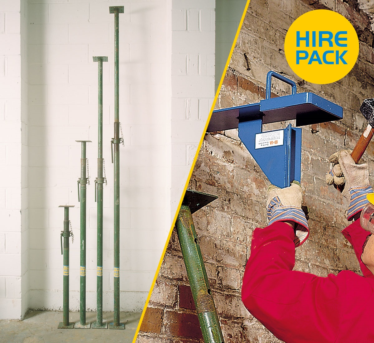 Wall Supports Hire Pack