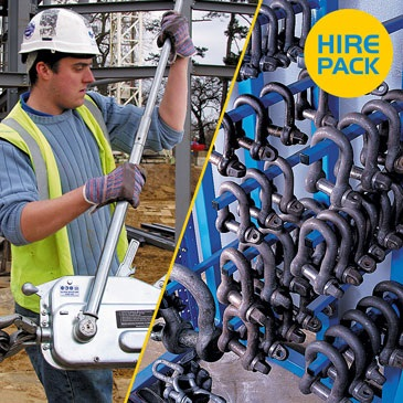 Tirfor Pulling Pack Hire Packs