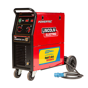 Red D'Arc 200A MIG Welders