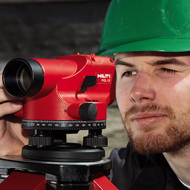 Hilti POL 15 Optical Levels