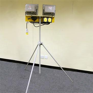 LED Twin Head Floodlight - HSS Hire