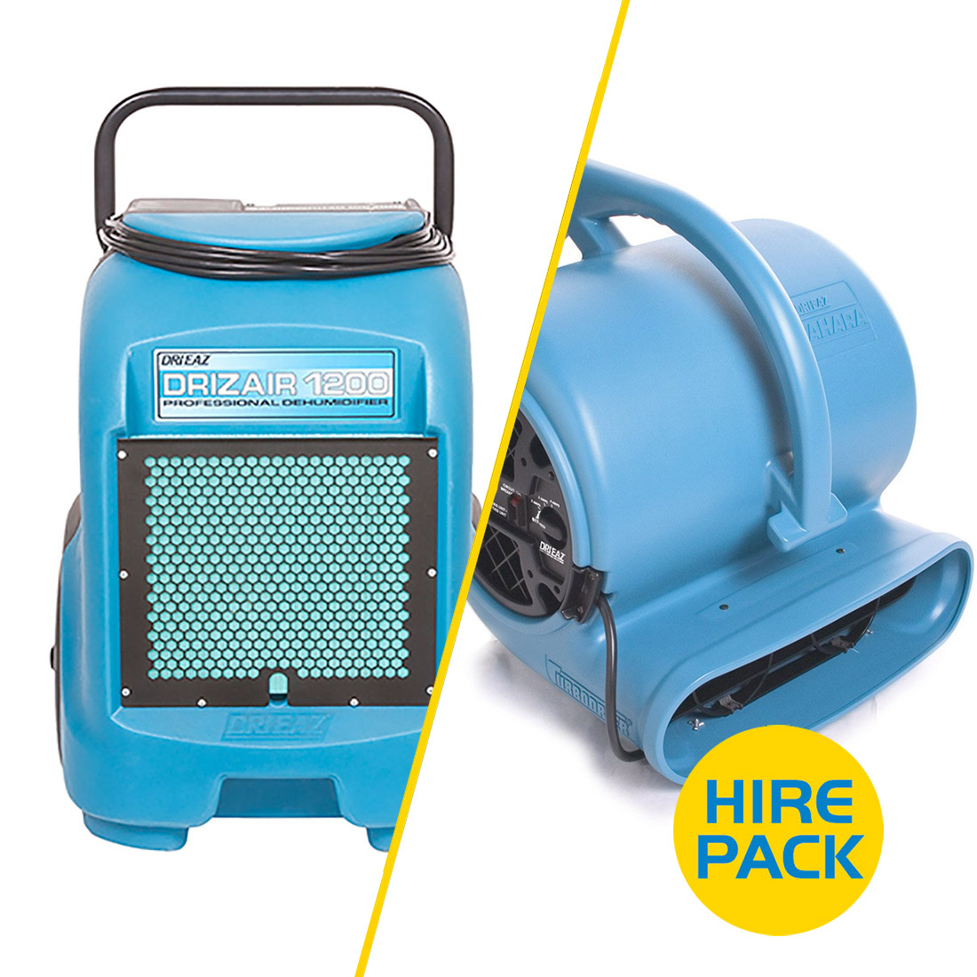 Drying Hire Pack