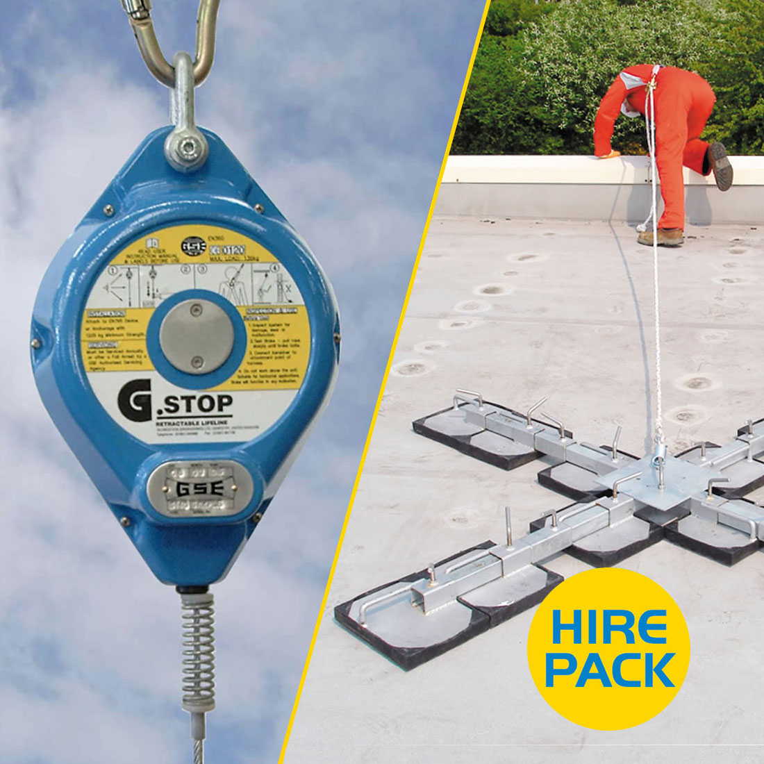 Roof Man Anchor Hire Pack