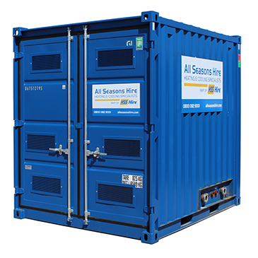 Containerised Boilers - 100-620kW