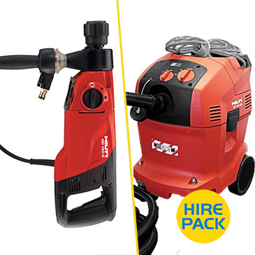 Diamond Drill Hire Packs