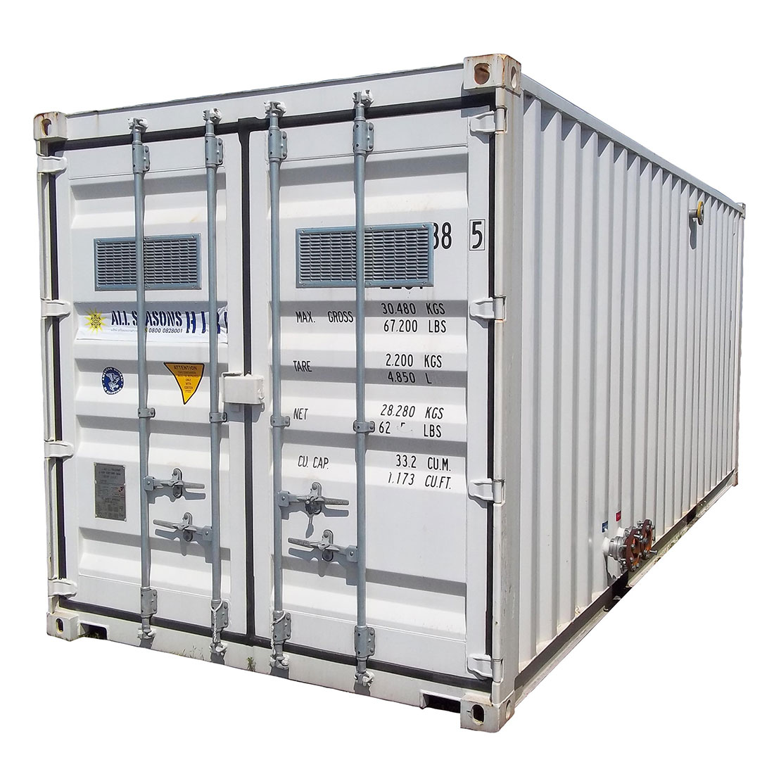 620kW Containerised Boiler