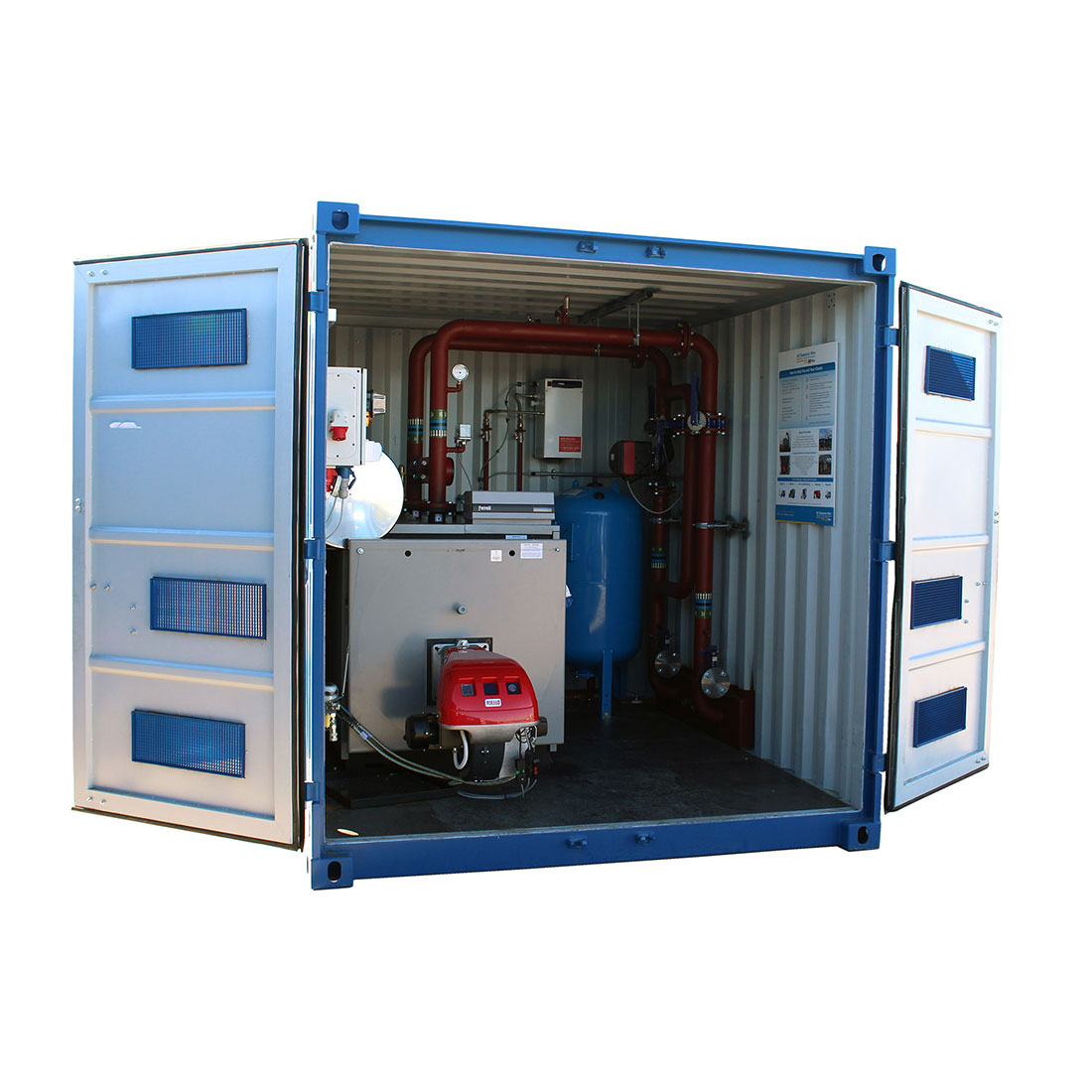 600kW Containerised Boiler
