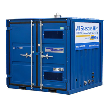 100kW Containerised Boiler - All Seasons Hire