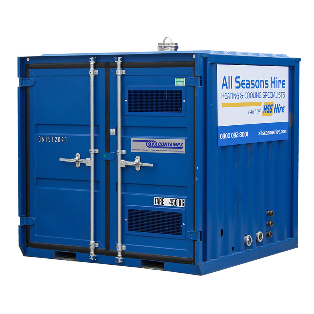 100kW Containerised Boiler