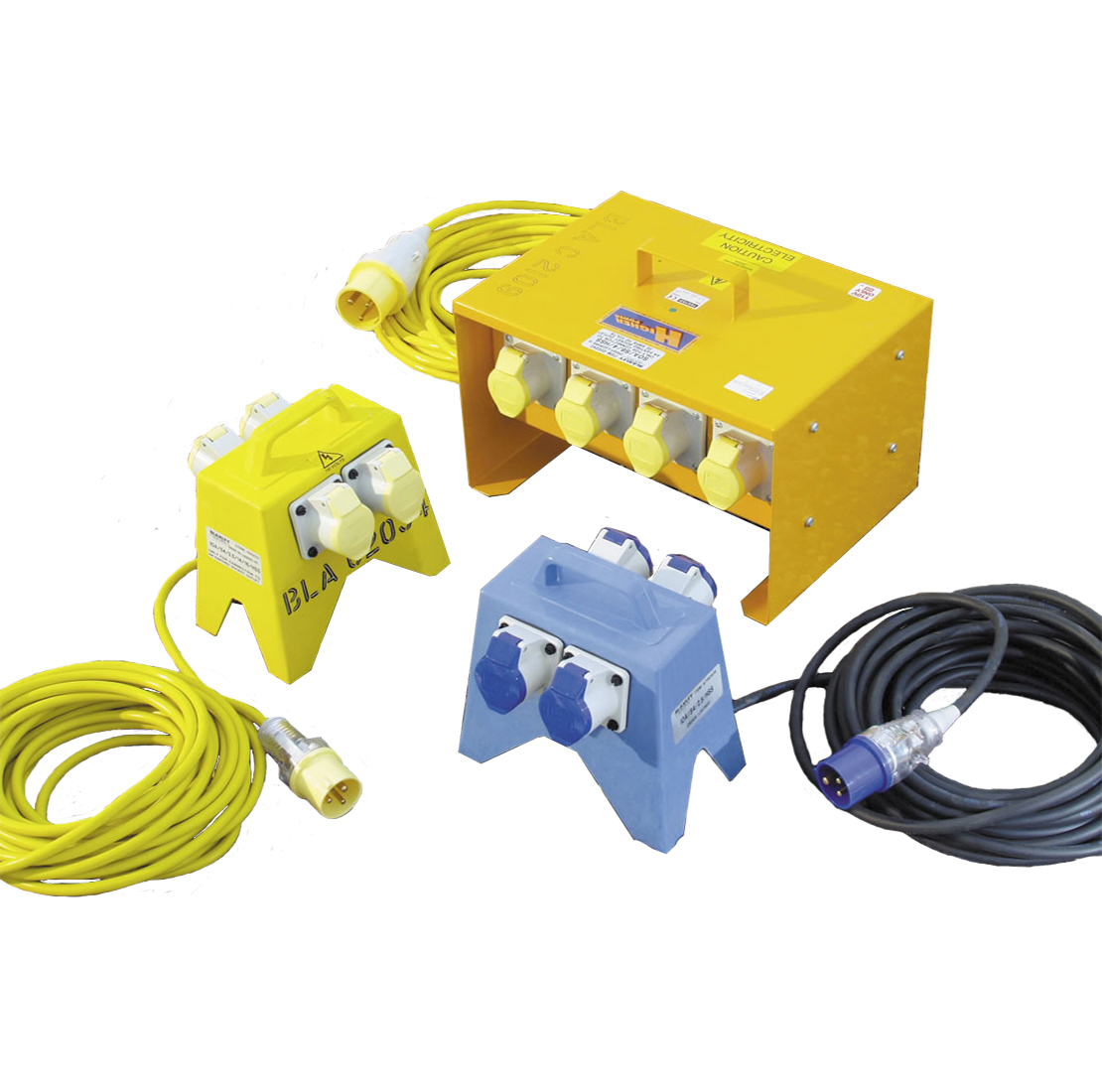 Four Way Junction Box 110V