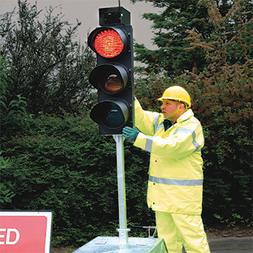 Mobile Traffic Lights