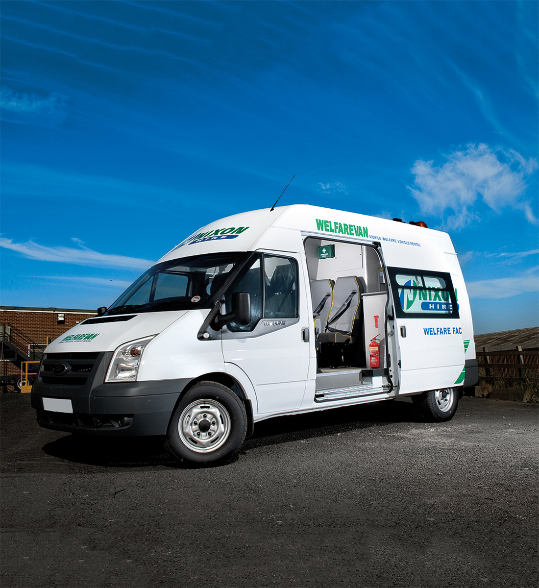Welfare Van Hire