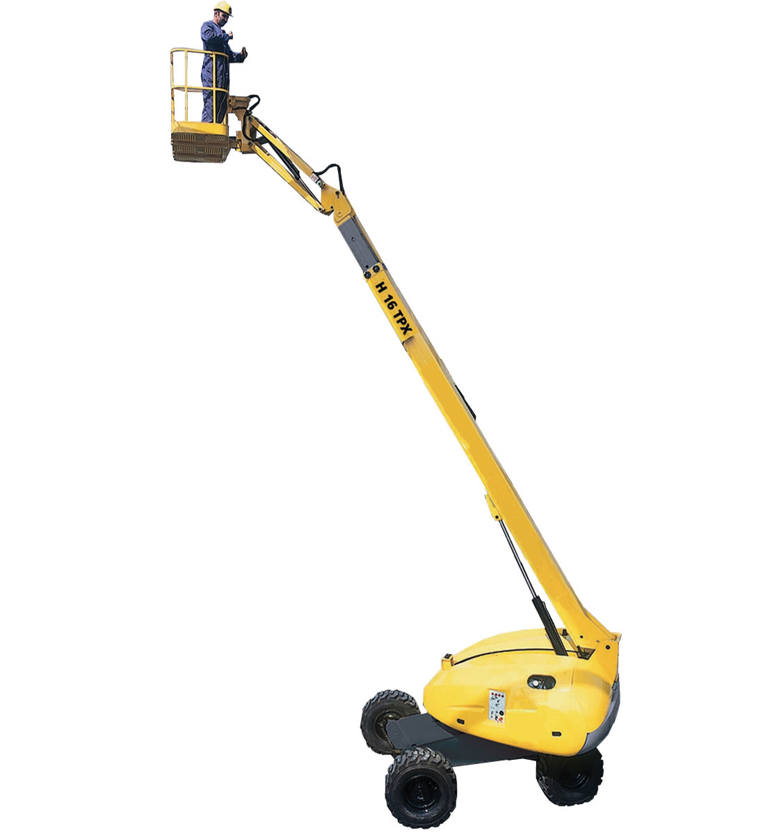 Telescopic Diesel Boom Lift 16 - 43m