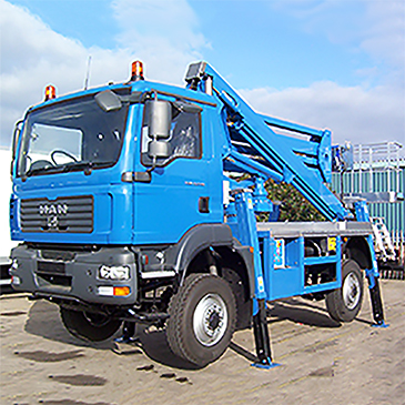 Truck Mounted  4x4 15-32m