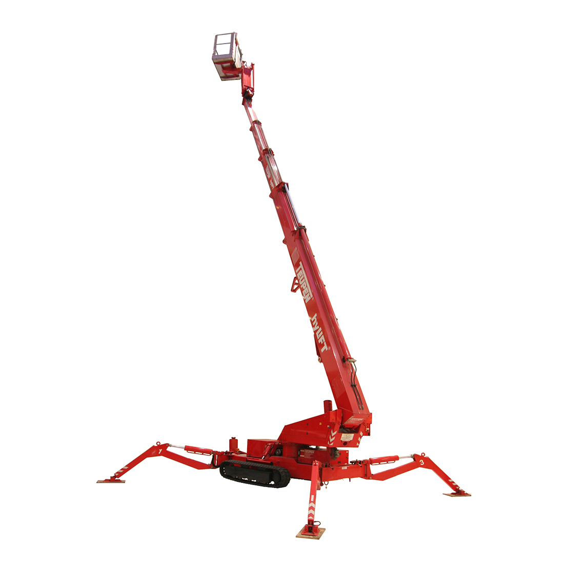 Telescopic Spider Boom 12-37m