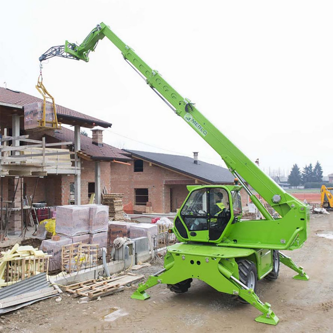 Roto Telehandler up to 32m