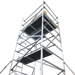 4.2m Narrow Alloy Tower (2.5m Deck)