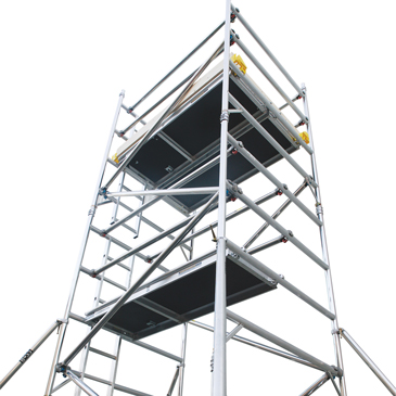 Alloy Access Towers Narrow Width 0.85x2.5m