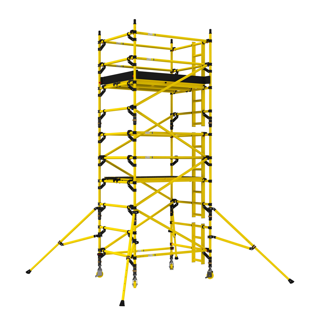 2.2m Narrow Non-Conductive Tower (2.5m Deck)