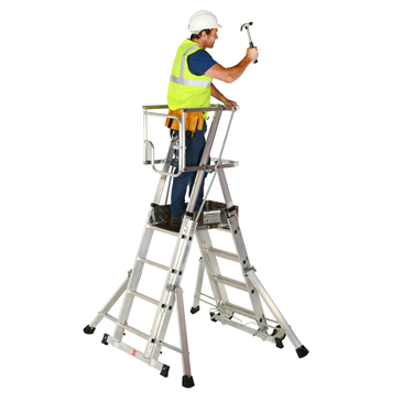 Adjustable Platform Step up to 1 52M