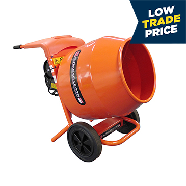 Tip-Up Concrete Mixers - 110v