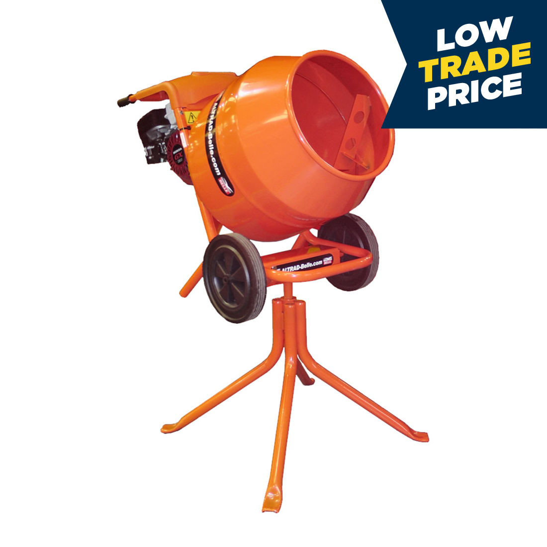 Concrete Mixer Tip-Up Petrol