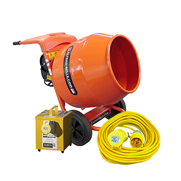 Concrete Mixer 110v Hire Packs