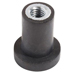 cylindrical-m4-zinc-plated-steel-anti-vibration-mount-06-7-compression-load-93mm-dia-natural-rubber