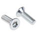 bright-zinc-plated-flat-steel-tamper-proof-security-screw-m4-x-12mm