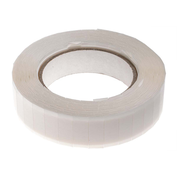 RS PRO White Foam Tape, 25mm x 12mm, 0.8mm Thick