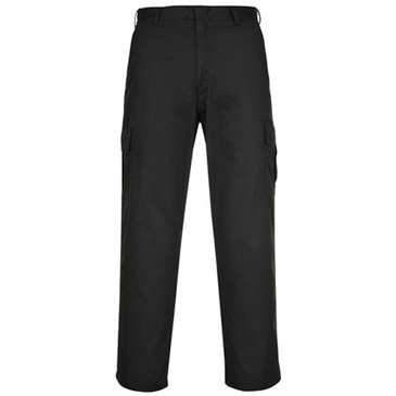 RS PRO Black Men's Polycotton Trousers 34in, 44 Waist