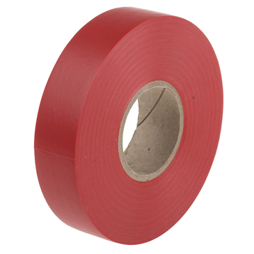 RS PRO Red PVC Electrical Tape, 19mm x 33m