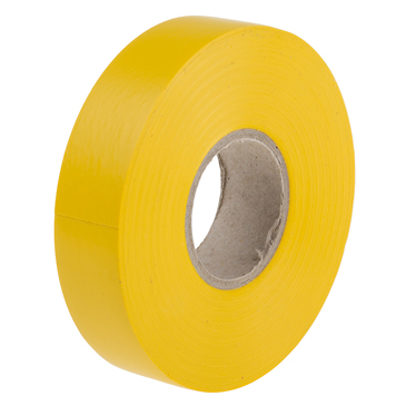 RS PRO Yellow PVC Electrical Tape, 19mm x 33m