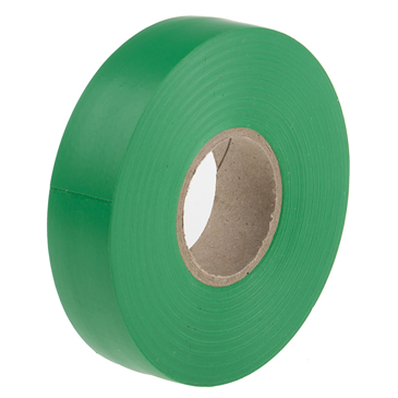 RS PRO Green PVC Electrical Tape, 19mm x 33m