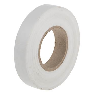 RS PRO White PVC Electrical Tape, 12mm x 20m