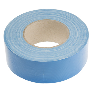 RS PRO Gloss Blue Cloth Tape, 50mm x 50m, 0.23mm Thick