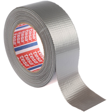 RS PRO PE Coated Silver Duct Tape, 48mm x 50m, 0.18mm Thick