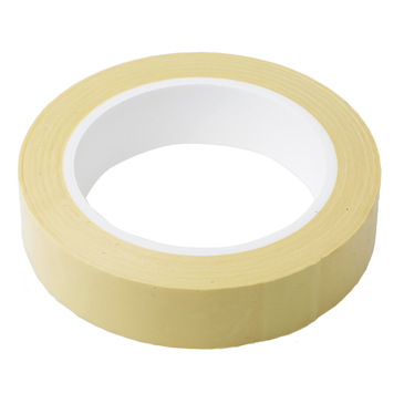 RS PRO AT4004 Yellow Polyester Electrical Tape, 25mm x 66m