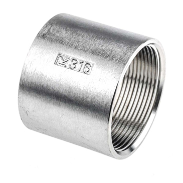 RS PRO Stainless Steel Socket 2in G(P) Female x 2in G(P) Female