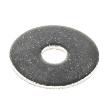 Plain Stainless Steel Mudguard Washer, M6 x 25mm, 1.6mm Thickness