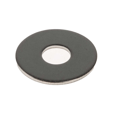 Plain Stainless Steel Mudguard Washer, M8 x 24mm, 2mm Thickness