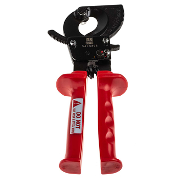 RS PRO 250 mm Ratchet Cable Cutter
